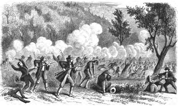 Masakra w Mountain Meadows, 11 września 1857 r.