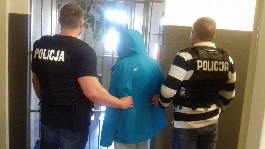 Łódź. Policja zatrzymała 29-latka podejrzewanego o pobicie i próbę zgwałcenia studentki