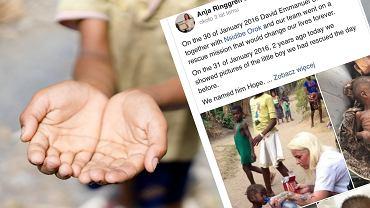Anja Ringgren Lovén uratowała chłopca przed śmiercią głodową