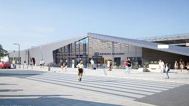 Tak na wizualizacjach wygląda dworzec PKP Gdańsk-Wrzeszcz