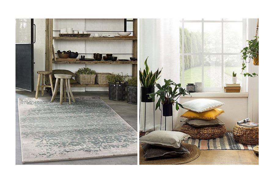 Naturalne wzory dywanów od Black Red White