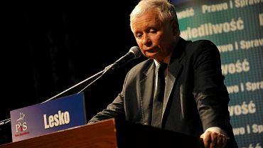 Jarosław Kaczyński w Ustrzykach Dolnych