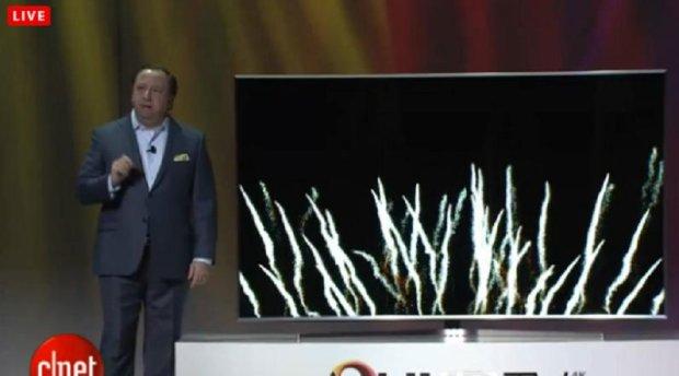 Pierwszy telewizor SUHD