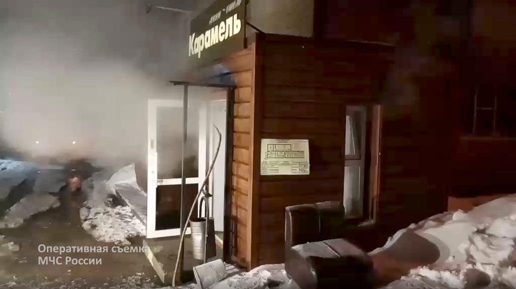 Hotel w rosyjskim mieście Perm