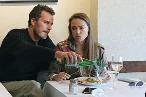 Alicja Bachleda - Curuś na lunchu z przyjacielem
