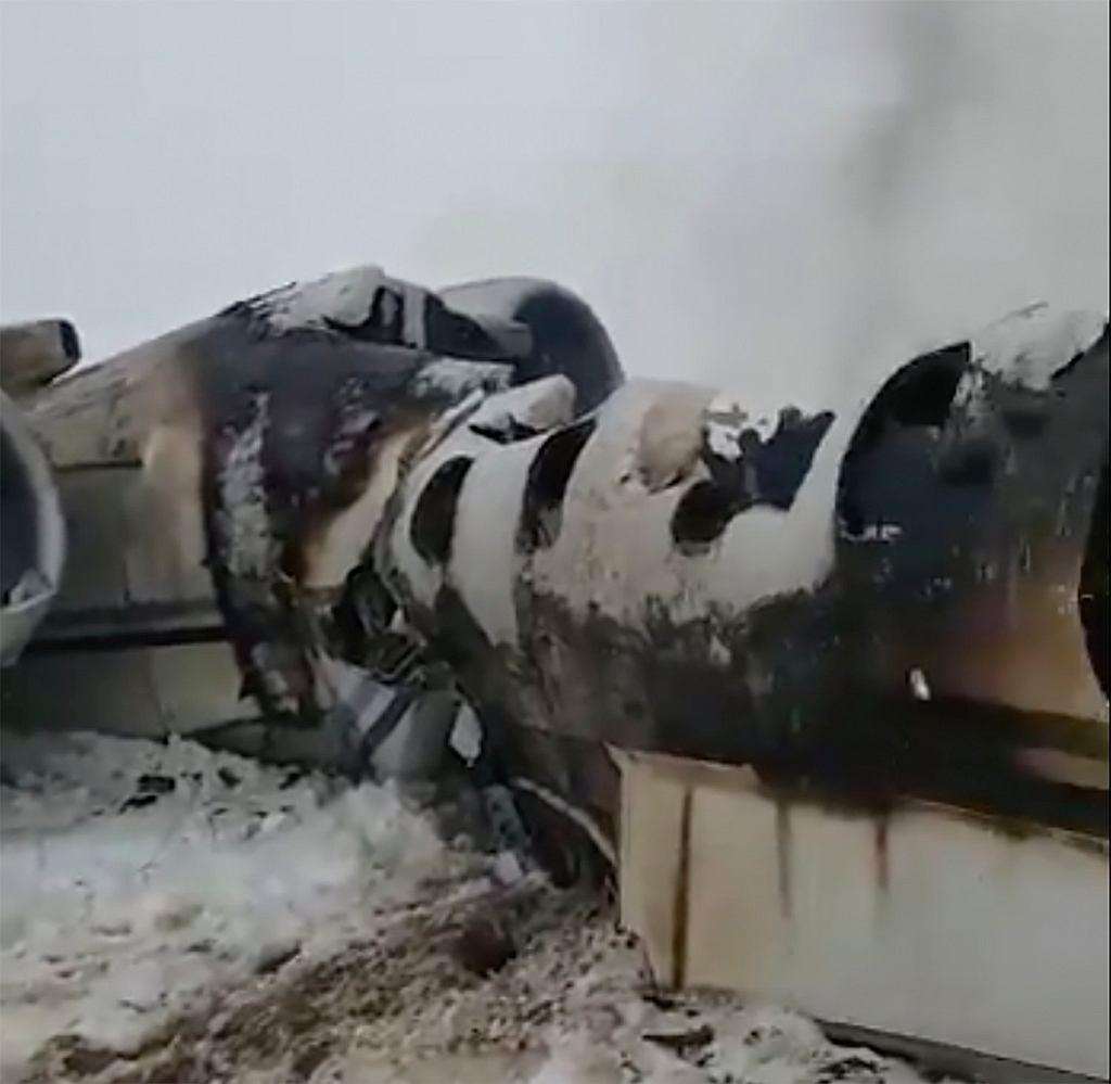 Afghanistan-Plane Crash