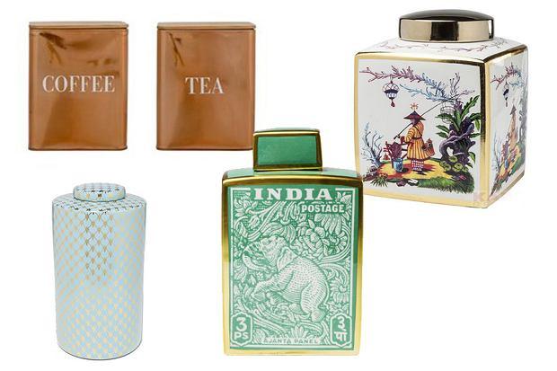Pojemniki i puszki na herbatę