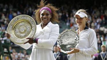 Serena Williams i Agnieszka Radwańska