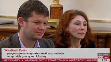 Dziennikarka, która zadała Putinowi dwa Pytania, które wytrąciły go z równowagi