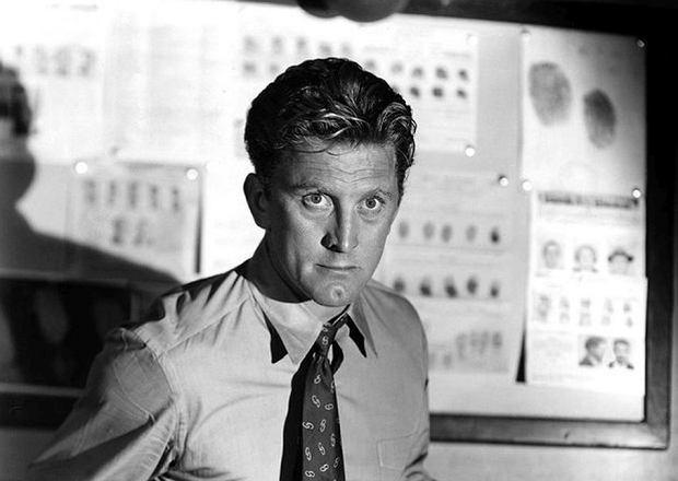 Kirk Douglas w filmie 'Opowieści o detektywie' (1951)