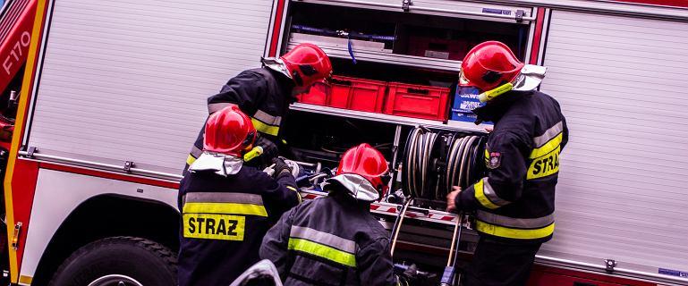 Strażacy pojechali na miejsce pożaru. Okazało się, że paliło się 200 km dalej