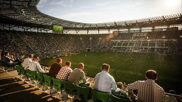 Trybuna na Stadionie Miejskim we Wrocławiu