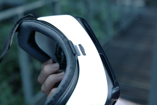 Regulacja ostrości w goglach Samsung Gear VR Lite