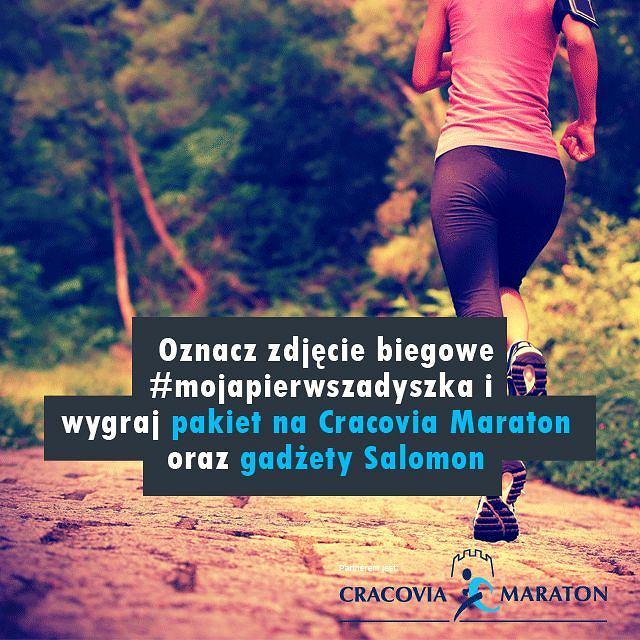 cracovia maraton #mojapierwszadyszka