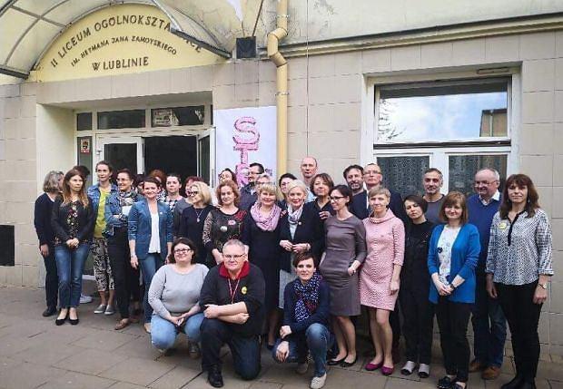 Nauczyciele z lubelskiego II LO w specjalnym liście wyjaśniają uczniom powody protestu i decyzji o tym, by nie przeprowadzić klasyfikacji