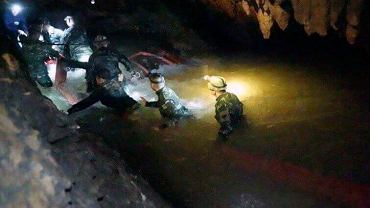 Akcja ratunkowa w jaskini Tham Luang w Tajlandii