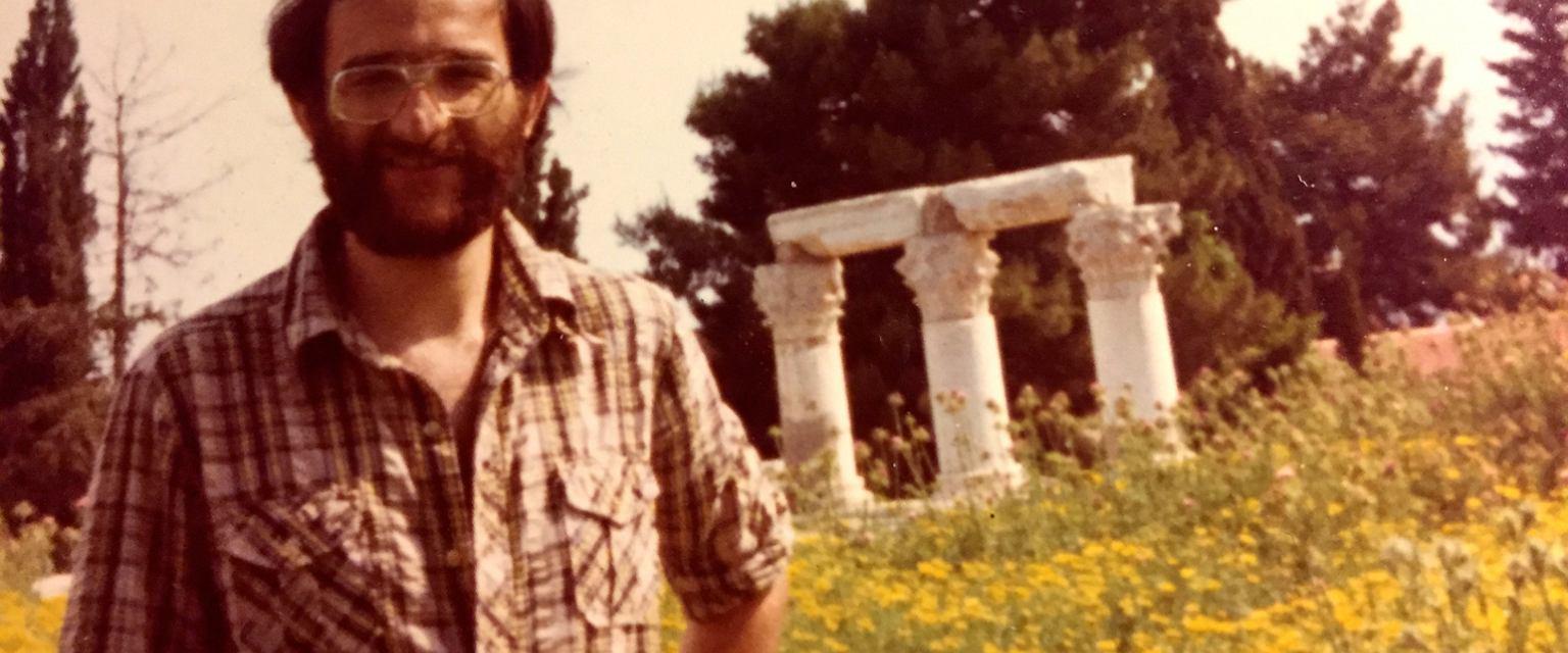 Jerzy Sarnecki w latach 70. (fot. archiwum prywatne)