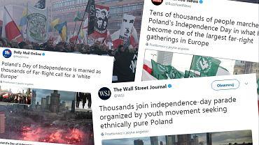 Media na świecie o Marszu Niepodległości