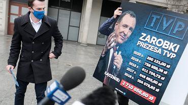 Ile zarabia Jacek Kurski? Poseł Nowoczesnej ujawnił kwoty