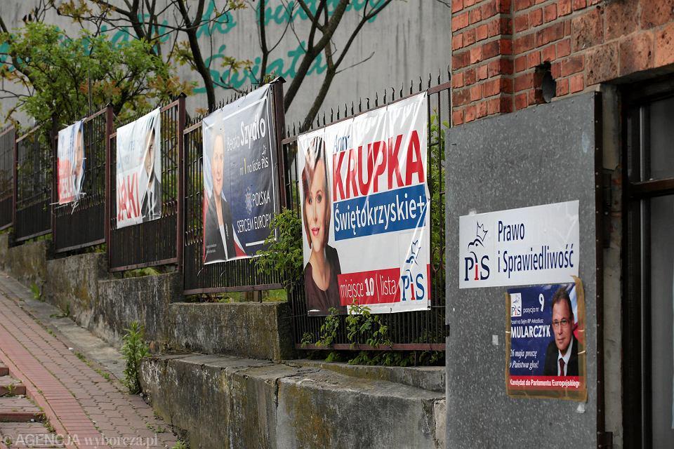 Eurowybory Daleko Od Szosy Na Plakaty Pis Zdecydowanie Wygrywa