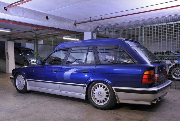 BMW M5 z wysokim dachem