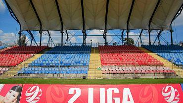 Trybuna kryta na stadionie Polonii Bytom