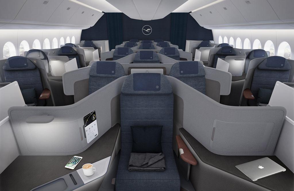Nowa klasa biznes w samolotach Lufthansa