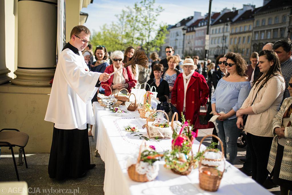 Wielkanocne święcenie pokarmów w Wielką Sobotę