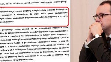 Adam Bodnar interweniuje ws. nowych przepisów dot. leczenia niepłodności