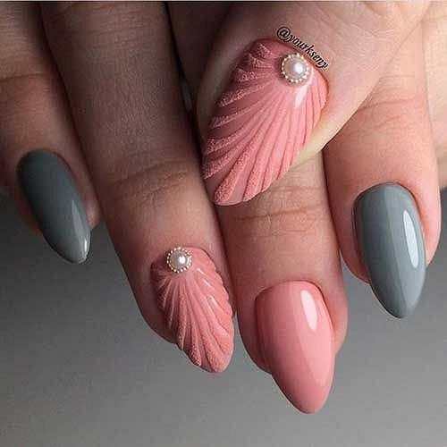 Muszelkowy manicure