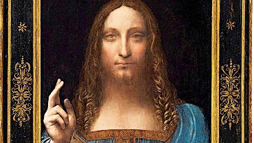 'Salvator Mundi' Leonardo da Vinci
