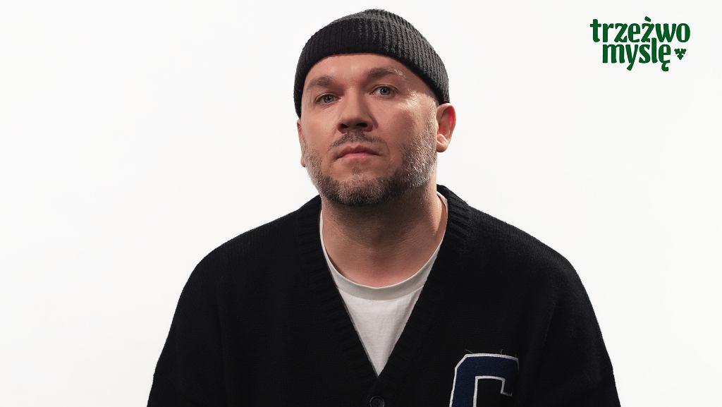 Piotr 'Vienio' Więcławski w edukacyjnej kampanii Carlsberg Polska - 'Trzeźwo Myślę'