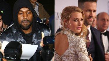 Kanye West, Blake Lively, Ryan Reynolds