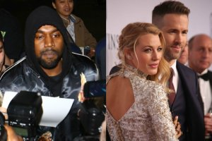 Kanye West, Blake Lively, Ryan Reynolds