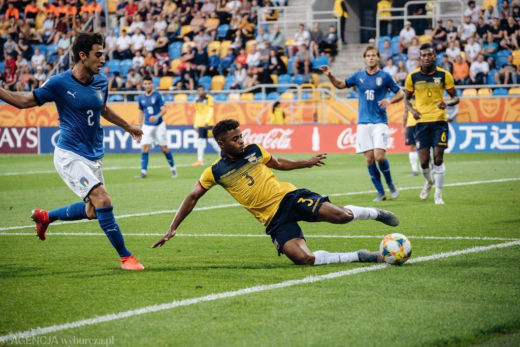 Gdynia. Mistrzostwa świata do lat 20, mecz o 3. miejsce Ekwador - Włochy 1:0