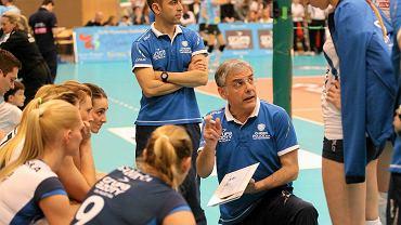 Trener Giuseppe Cuccarini