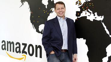 Steven Harman, wiceprezes ds. operacyjnych Amazon w Europie