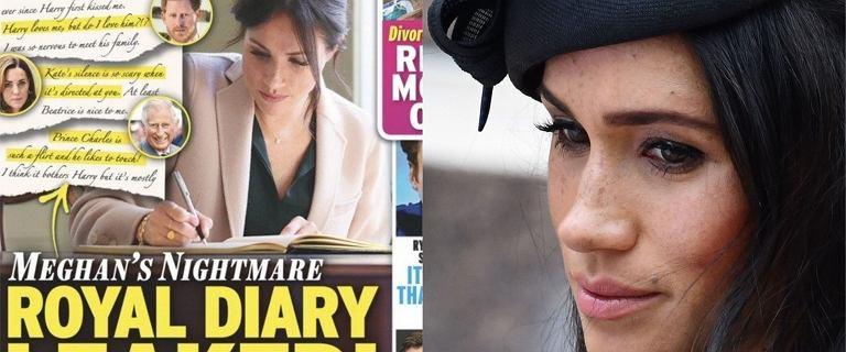 """Tabloid publikuje fragmenty pamiętnika Meghan Markle. """"Nie wiem, czy kocham Harry'ego"""""""