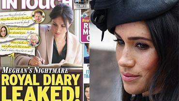 Meghan Markle ofiarą brytyjskiego tabloidu. Opublikował cytaty z jej pamiętnika: Nie wiem, czy kocham Harry'ego