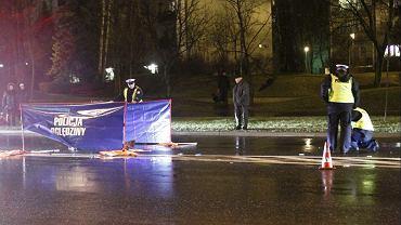 Wypadek na przejściu dla pieszych - zdjęcie ilustracyjne