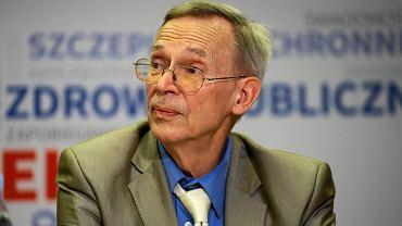 Prof. Włodzimierz Gut o dużym spadku zachorowań na koronawirusa