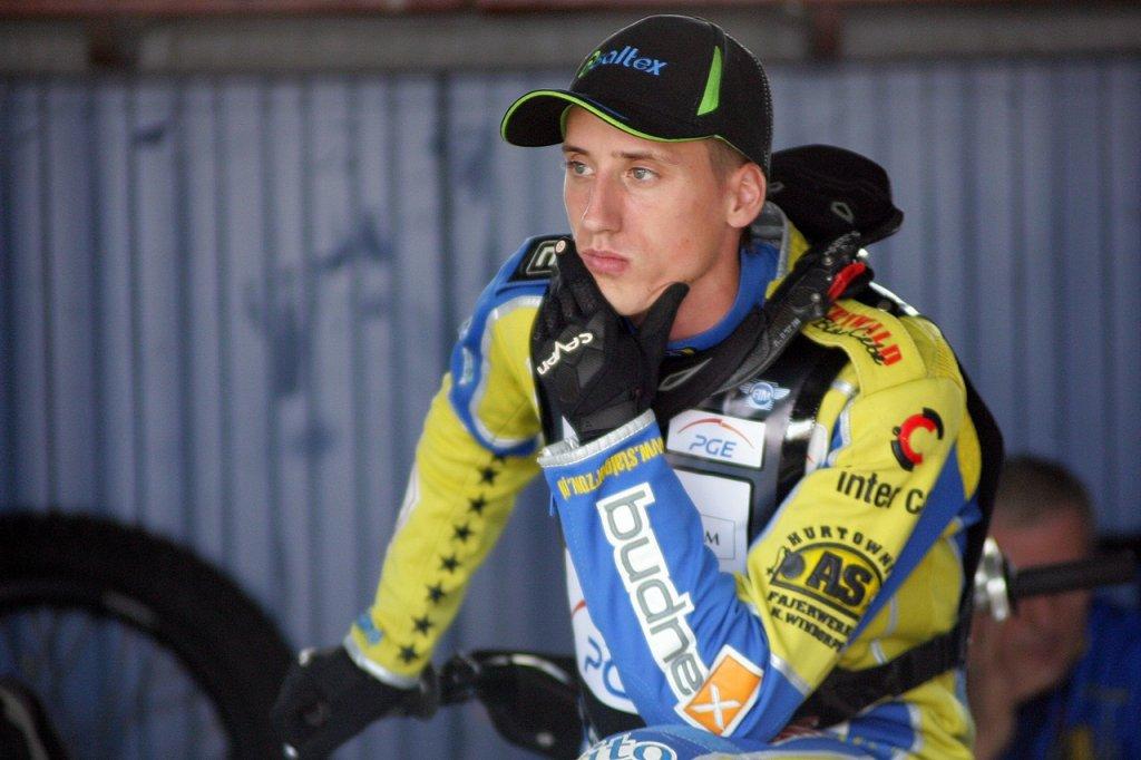 Trening przed gorzowską rundą Grand Prix 2015. Adrian Cyfer