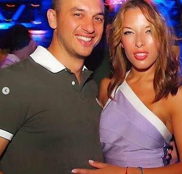 Ewa Chodakowska kilka lat temu z mężem
