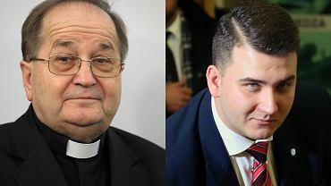 Ojciec Rydzyk i Bartłomiej Misiewicz
