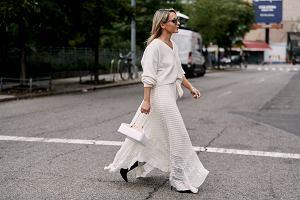 Kolor biały w stylizacjach na lato