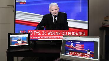 Nowy Polski Ład - prezentuje Jarosław Kaczyński, prezes PiS