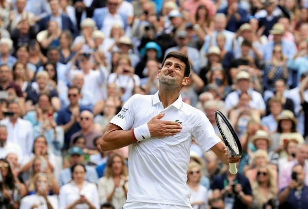 Novak Djokovic zarobił miliony za zwycięstwo w Wimbledonie. Roger Federer zgarnął o połowę mniej