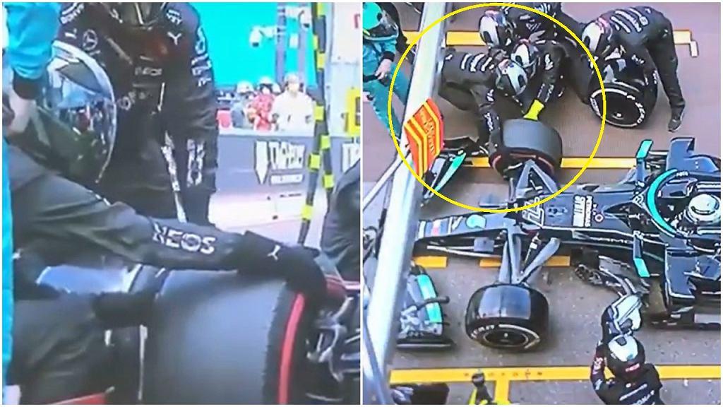 Fatalny pit stop Mercedesa podczas GP Monako