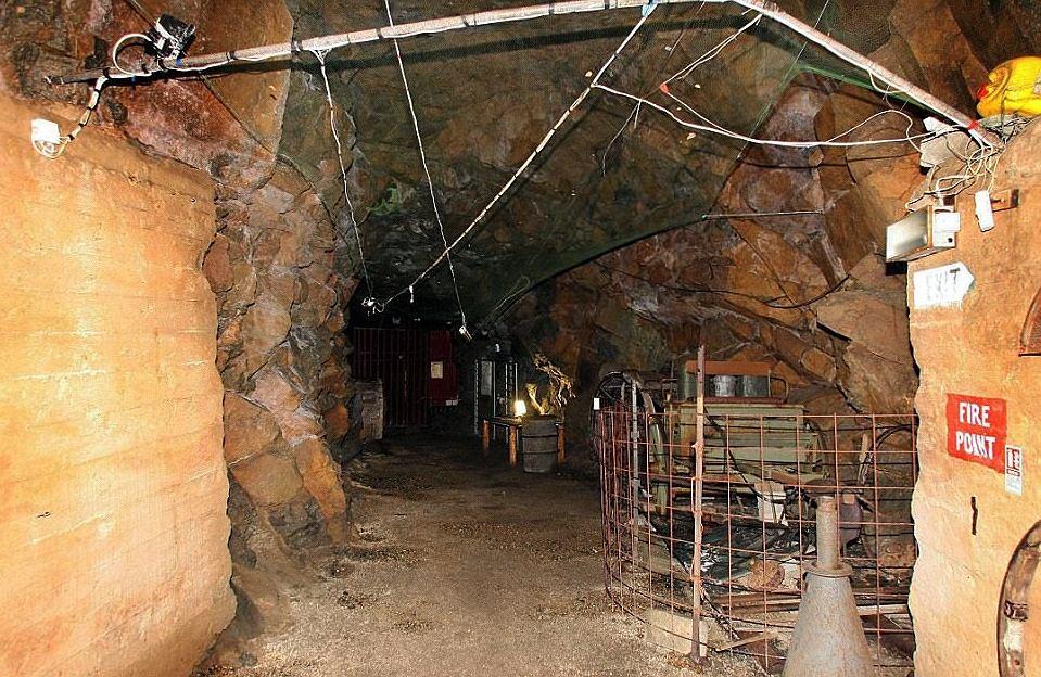 Wnętrze tunelu