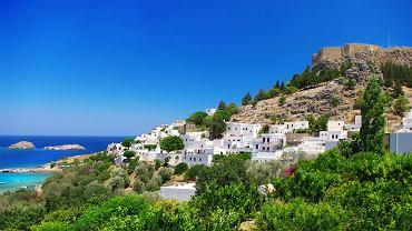 Wyspa Lindos. Rodos, Grecja